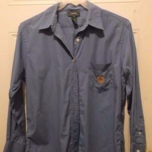 """""""Ralph Lauren"""" long shirt, w emblem"""